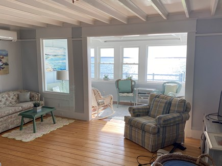 West Yarmouth Cape Cod vacation rental - Oceanview from Dining Room through Living Room