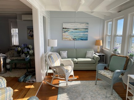 West Yarmouth Cape Cod vacation rental - Porch on Lewis Bay