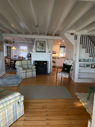 West Yarmouth Cape Cod vacation rental - Living Room from Porch