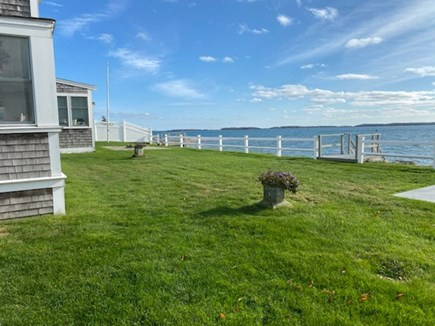 West Yarmouth Cape Cod vacation rental - View of backyard