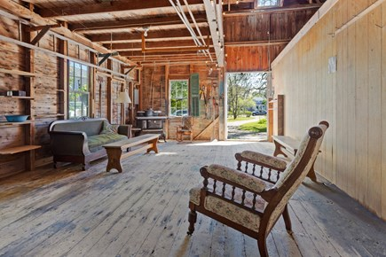 Harwichport Center Cape Cod vacation rental - Rainy day pub in the barn
