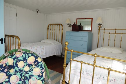 Harwich Port Cape Cod vacation rental - Spacious bedroom 3 with 2 single beds
