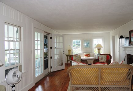 Harwich Port Cape Cod vacation rental - Wicker furnishings for comfortable seaside living