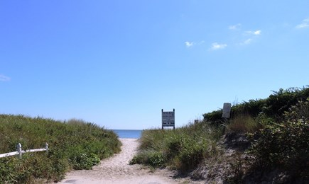 Harwich Port Cape Cod vacation rental - View of the beach