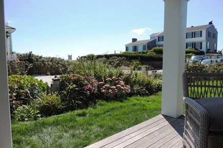 Harwich Port Cape Cod vacation rental - Covered porch with water views