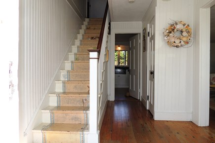 Harwich Port Cape Cod vacation rental - Beautiful hand painted staircase