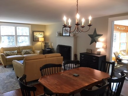 Brewster Cape Cod vacation rental - Dining Room / Living room