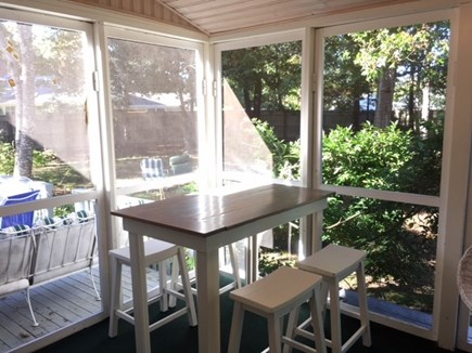 Brewster Cape Cod vacation rental - Sun porch