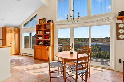 Truro Cape Cod vacation rental - Alternate dining adjacent to the kitchen