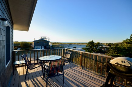 Truro Cape Cod vacation rental - Waterfront cottage w/ beautiful bay views & private beach access
