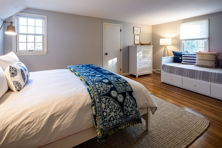 Chatham Cape Cod vacation rental - Bedroom 4 - Upper level queen bedroom with full day bed