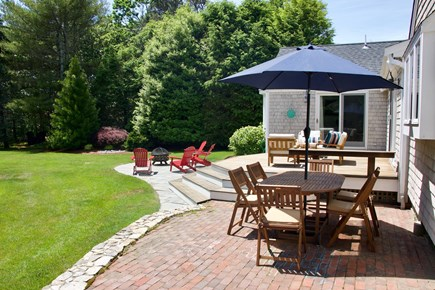 Chatham Cape Cod vacation rental - Very private backyard with multiple seating areas