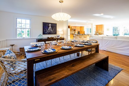 Chatham Cape Cod vacation rental - Open dining/living area with plenty of seating