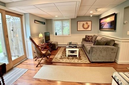 Brewster Cape Cod vacation rental - Finished Basement