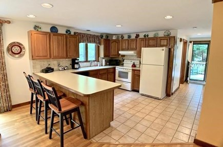 Brewster Cape Cod vacation rental - Kitchen and breakfast bar area
