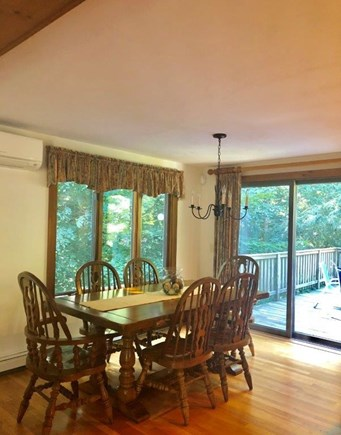 Brewster Cape Cod vacation rental - First Floor Dining Area