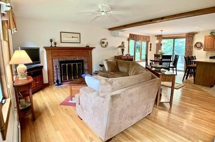 Brewster Cape Cod vacation rental - First Floor Seating Area