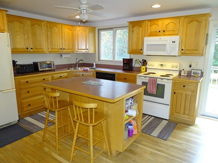 Orleans Cape Cod vacation rental - Kitchen offers new cabinets and appliances