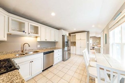 Mashpee, Popponesset Cape Cod vacation rental - Kitchen with plenty of workspace and updated appliances.