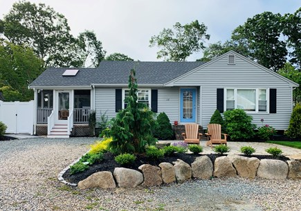 Mashpee, Popponesset Cape Cod vacation rental - Curbside. Four parking spaces that do not block in.
