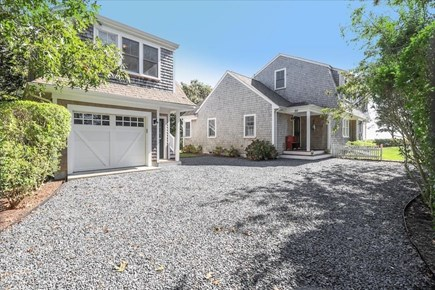 Hyannis Cape Cod vacation rental - Driveway and front of home and guest house
