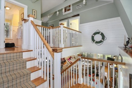 Hyannis Cape Cod vacation rental - Staircase to upper level