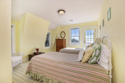 Hyannis Cape Cod vacation rental - Upper level bedroom with 2 twins