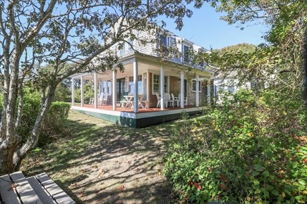 Hyannis Cape Cod vacation rental - Back view of the home