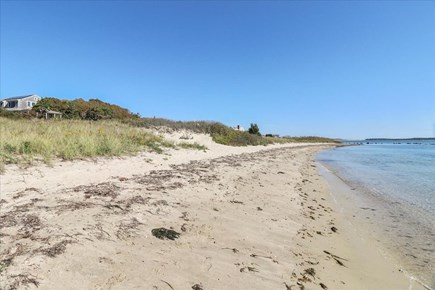 Hyannis Cape Cod vacation rental - Beach in front of the home