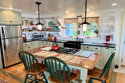 Hyannis Cape Cod vacation rental - Large, eat-in kitchen