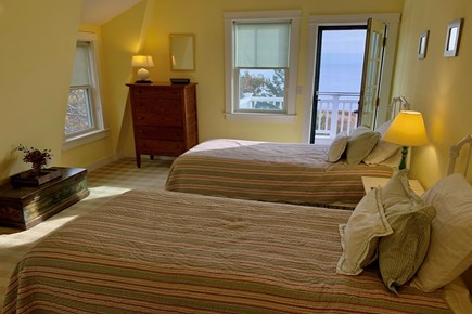 Hyannis Cape Cod vacation rental - Second floor bedroom #1 with twin beds