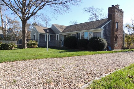 Harwich Port Cape Cod vacation rental - Front view of Sea Street home