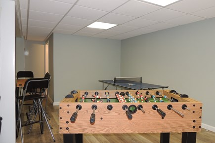 Harwich Port Cape Cod vacation rental - Ping pong and foosball