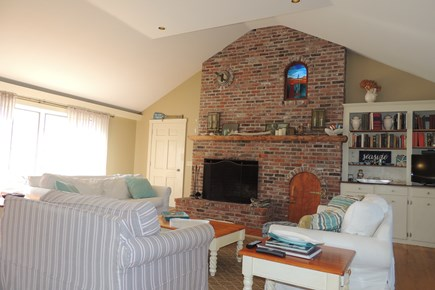 Harwich Port Cape Cod vacation rental - Fireplaced living room