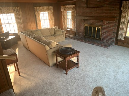 Falmouth Village Cape Cod vacation rental - Huge Family Room - kids have a separate space from the adults.