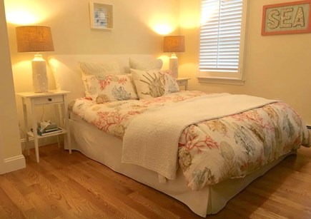 Mashpee Cape Cod vacation rental - Queen bedroom with dresser