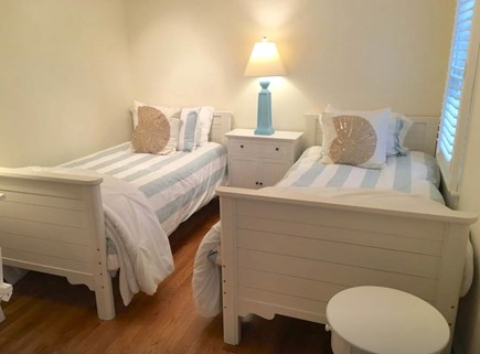 Mashpee Cape Cod vacation rental - Twin bedroom with desk