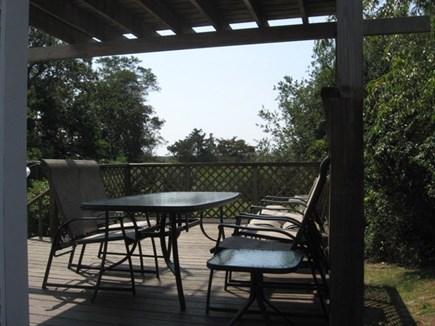 Dennis Cape Cod vacation rental - Deck area