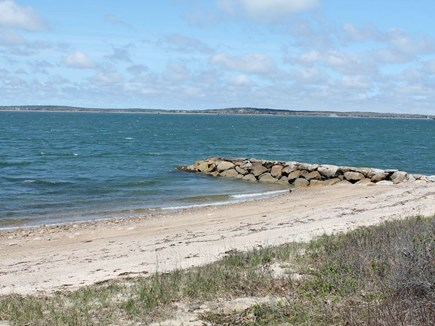 Bourne, Pocasset Cape Cod vacation rental - Just a short walk down the back yard to your private beach.