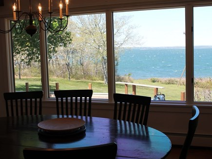 Bourne, Pocasset Cape Cod vacation rental - Dinner with a view!