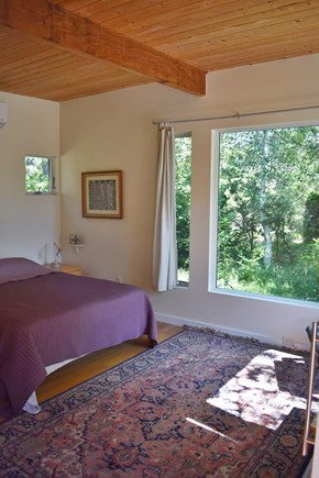 Wellfleet Cape Cod vacation rental - Spacious, private queen bedroom in guest house, with BIG windows