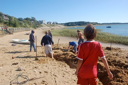 Wellfleet Cape Cod vacation rental - Our beach! It's great for building sandcastles!