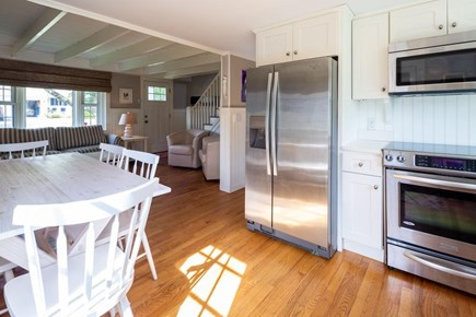Chatham Cape Cod vacation rental - Dining Area in The Kitchen and Open to Living Area