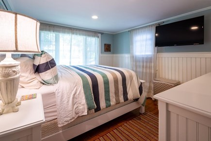 Chatham Cape Cod vacation rental - Another View of The Queen Bedroom on the First Floor
