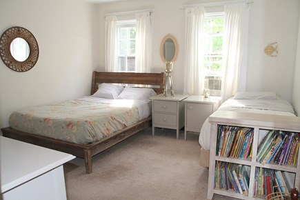 Centerville Centerville vacation rental - Large bedroom contains 1 Queen and 1 Twin bed. Good sized closet.