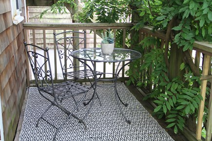Centerville Centerville vacation rental - Enjoy morning coffee overlooking back yard. Birdsongs galore.