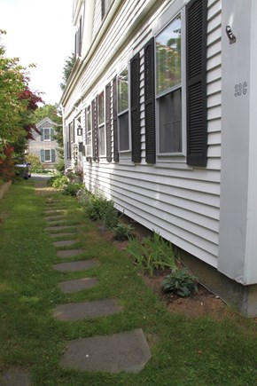 Centerville Centerville vacation rental - Pathway to handy parking spot in driveway!