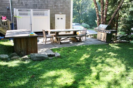 Centerville Centerville vacation rental - Backyard available for grilling & picnicking!