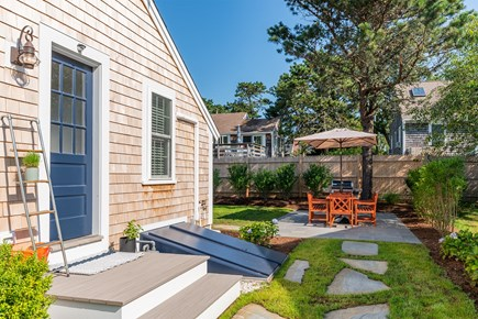 Chatham Cape Cod vacation rental - Side Yard Leading to Patio