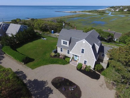 South Chatham Cape Cod vacation rental - Aerial View Showing Proximity and Views